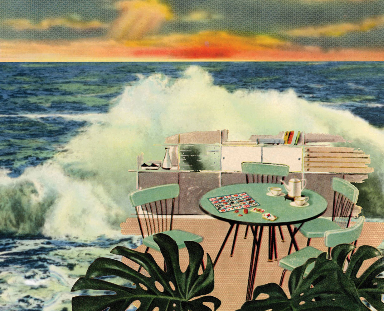 "Jennifer Vanderpool, Lake Superior to Detroit, The Modern Series, 2021, ChromaLuxe aluminum print, 17"" x 21"""