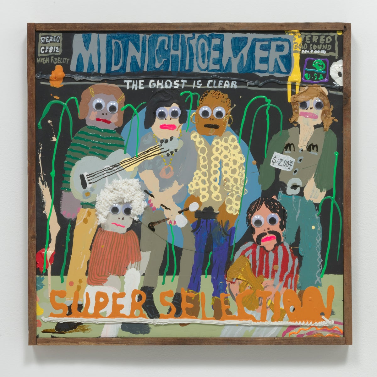 """Mark Todd, One Hit Wonder, Collection of Mark's paintings from his show at Susanne Vielmetter Gallery, Los Angeles, Full color, 24 Pages, soft cover, 8"""" x 8"""""""