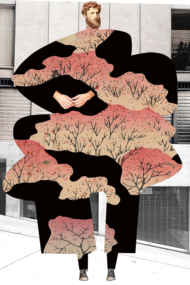 """The Catalogue of Imaginary Beings, Plate No. 110, Digital print, 19"""" x 13"""""""