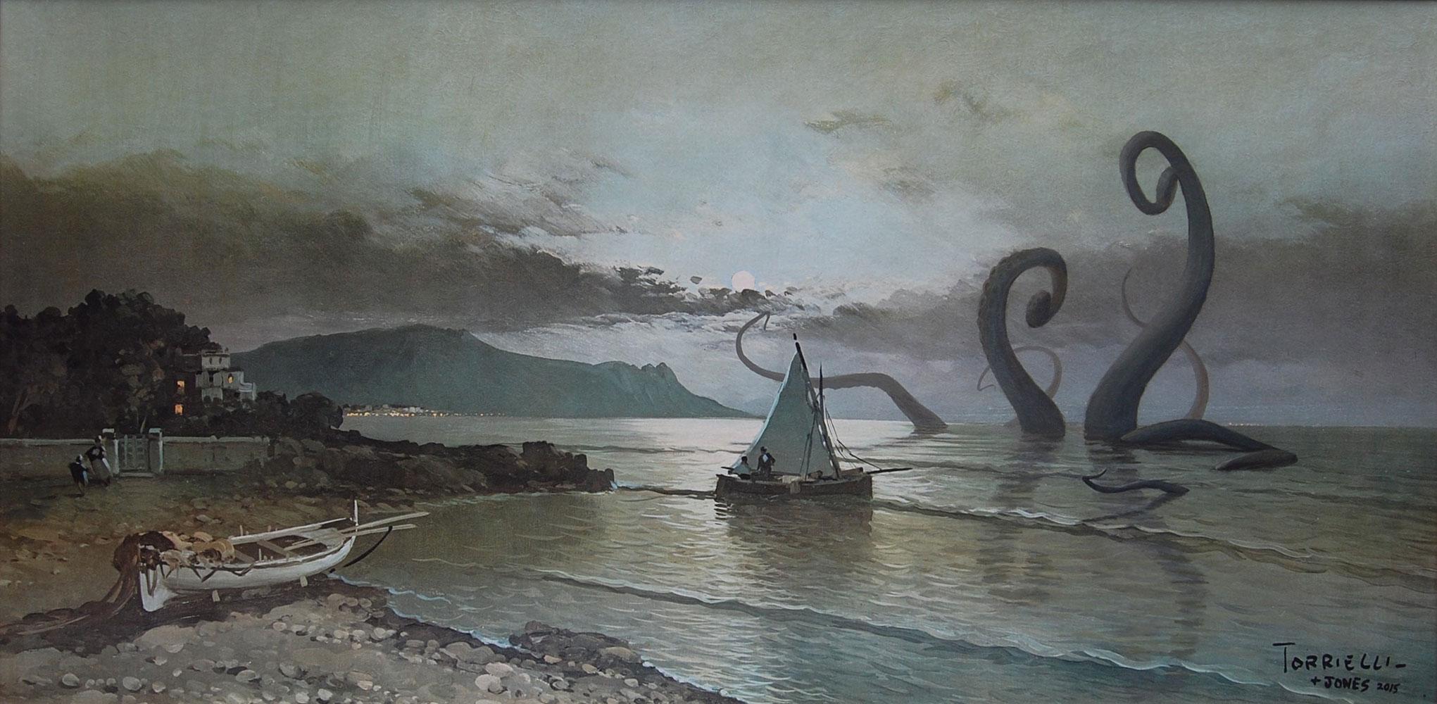 Jason Jones, Kraken