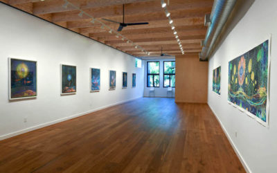 """Events in August during Christine Nguyen's """"Cosmic Gardens"""""""