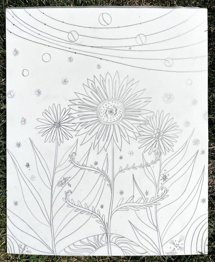 Christine Nguyen, Cosmic Gardens